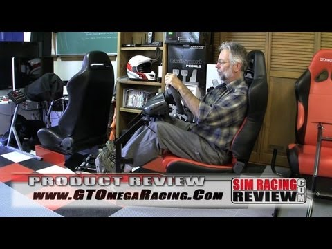 Sim Racing Review - GT Omega Racing EVO Cockpit Review