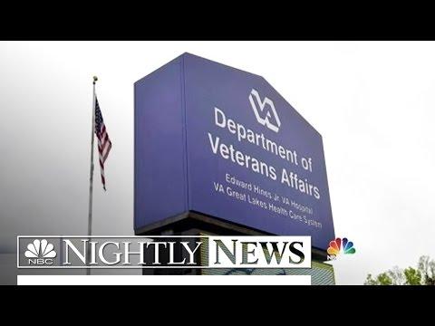 VA Secretary Compares Veterans Wait Times To Disneyland | NBC Nightly News