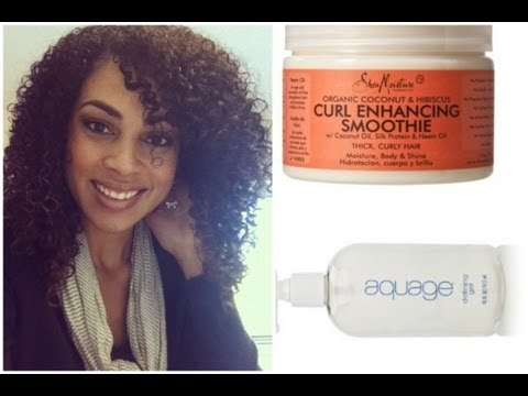 Hair Tutorial: Naturally Curly Hairstyling using Shea Moisture