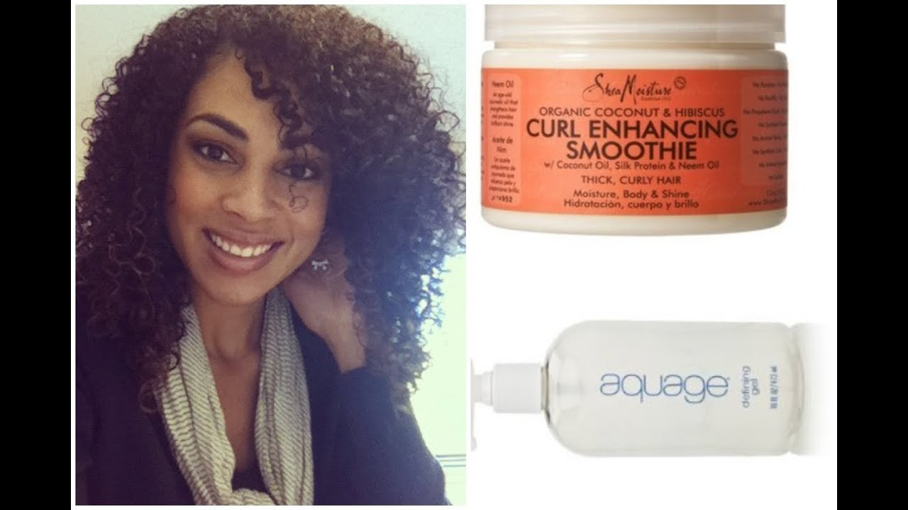 Hair Tutorial Naturally Curly Hairstyling Using Shea