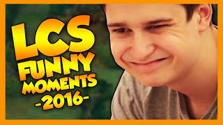 LCS Funny Moments  - League of Legends