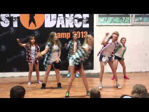 Летний танцевальный лагерь ДэнсМастерс Just Dance Camp 2013