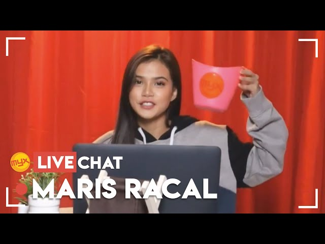 MYX Live Chat with Maris Racal