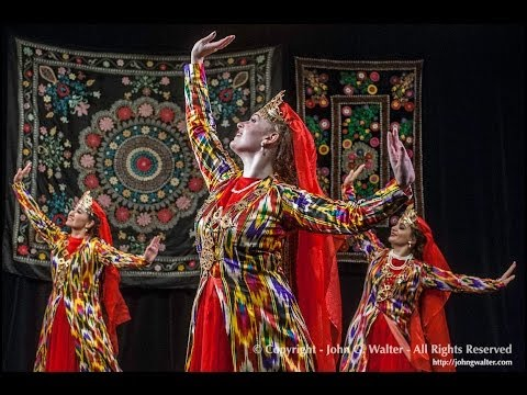 Uzbek Dance Dilhiroj дилхирож performed by Silk Road Dance Company at Silk Road Dance Festival