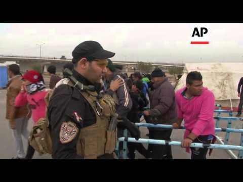 Iraqi Shiite Muslims start pilgrimage to holy city of Karbala