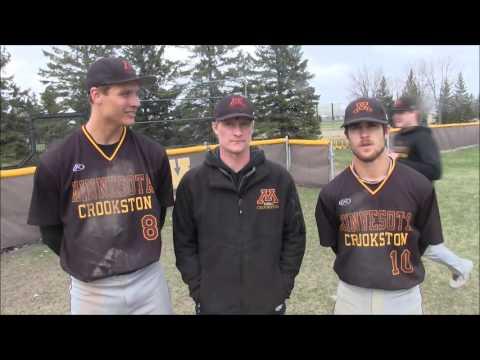 UMC Baseball Post-Game vs. Upper Iowa (April 18, 2016)