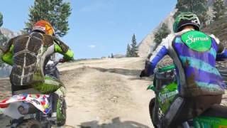 GTA 5 - Offroad ATV Bike Race