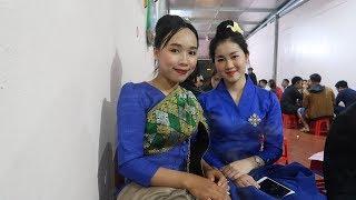 Rủ gái Lào cực xinh đi ăn Ốc | Học tiếng Lào và cái Kết ...// GÁI BẢN