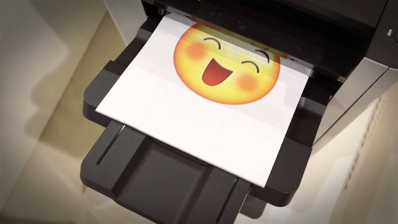 Mx7 Printer Emoji 0501 With Emoji Sound Youtube