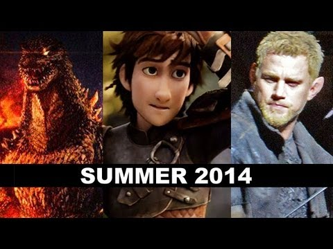 Summer Movies 2014 - Godzilla. Fast 7. Maleficent. Jupiter Ascending - Beyond The Trailer