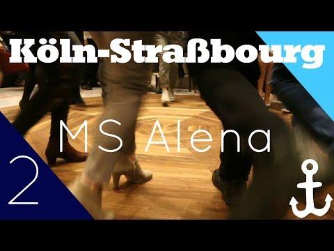 #Vlog2 MS Alena (Köln-Straßbourg) - (K)ein Partyschiff!? - Phoenix Reisen