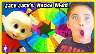 INCREDIBLES Jack Jack Wheel of Adventure! DIY Slime Toy Play by HobbyKidsTV