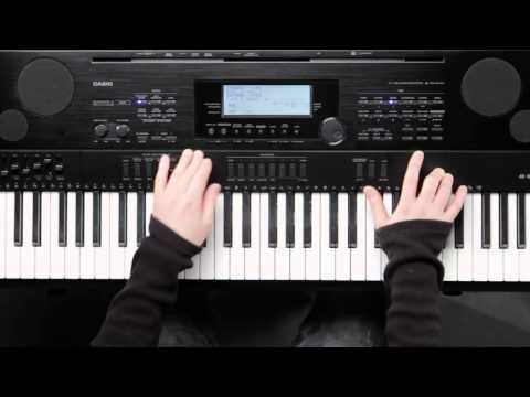 CASIO WK7500 (4) 리듬