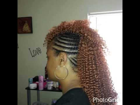 Crochet Hair Mohawk : Crochet braids mohawk