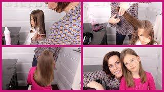 HOW TO:  Cut Girls Hair