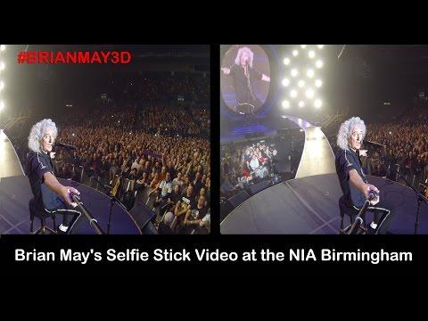 Brian May selfie video
