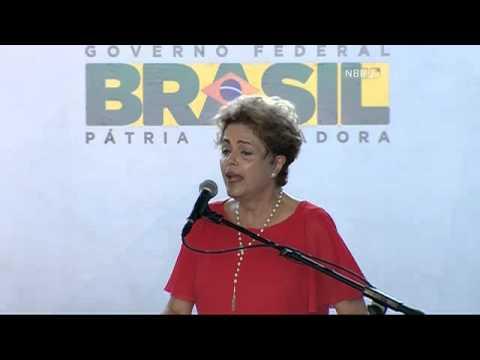 Abalada, Dilma diz que aguenta pressão e ameaças