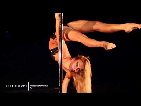 Applicant for POLE ART 2012 - Anastasia Shukhtorova, Russia