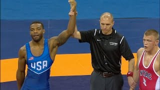 Olympic Wrestling Trials | Andrew Howe vs Jordan Burroughs, Match 2 | Full Match