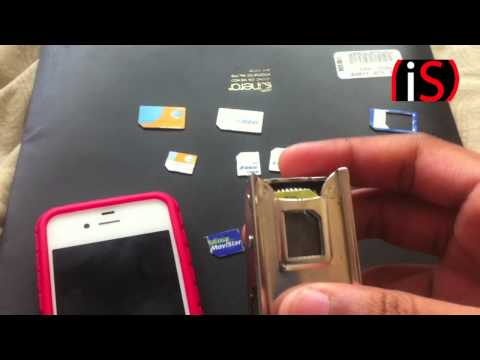 Corte de SIM a MicroSIM o NanoSIM (iPad / Galaxy/ iPhone  4S / 5 / 5S)