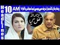 Reham Khan Denies Receiving Money From Shahbaz Sharif - Headlines 10 AM - 4 June 2018 - Dunya News
