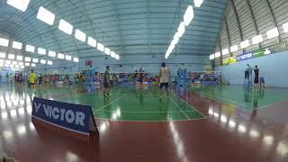 badminton game in Tainan