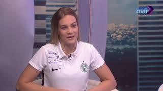 DIGI Sport, Reggeli Start - Klujber Katrin