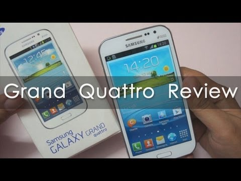 Samsung Galaxy Grand Quattro / Galaxy Win In-depth Review