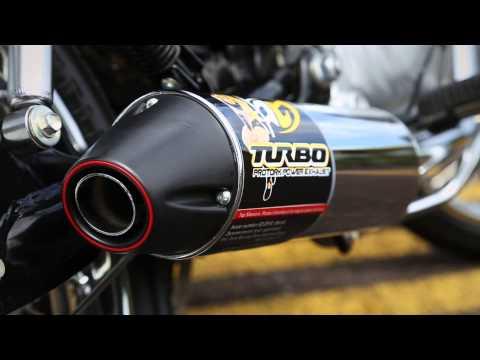 Escapamento Pro Tork Turbo para Fan 150cc
