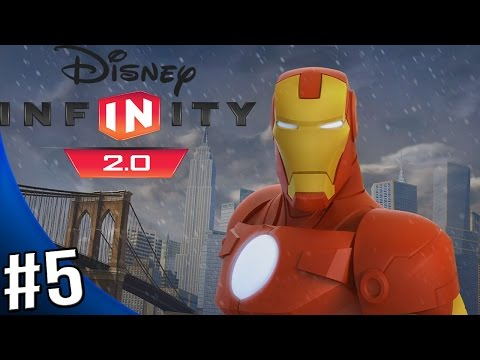 Disney Infinity 2.0 Marvel Super Heroes - The Avengers Playset - Walkthrough Part 5 - Save the Mayor