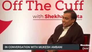 Mukesh Ambani Says Telecom Companies Ragging Jio