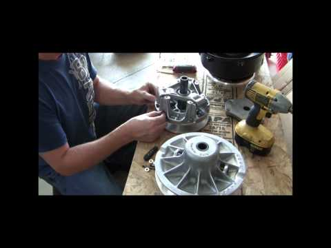 TEAM Wide Ratio Clutch Kit install on 2011 Polaris RZR
