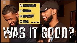 "N.E.R.D. (FEAT.RIHANNA) ""LEMON"" REVIEW AND REACTION #MALLORYBROS 4K"