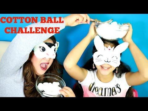 COTTON BALL CHALLENGE|B2cutecupcakes