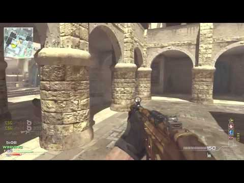 Mw3- Mp5 Moab - Black Ops 2 Pre-order Details (gameplay commentary) video