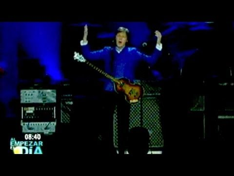 Paul McCartney conquista a miles de capitalinos