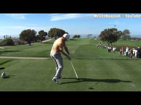 [HD] Jordan Spieth Driver SwingVision DTL @ 2014 Farmers Insurance Open