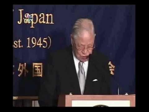 李登輝前台湾総統 日本外国特派員協会での記者会見  (1of3)