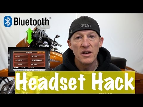 Bluetooth Headset on Harley Boom Box Infotainment System? DIY