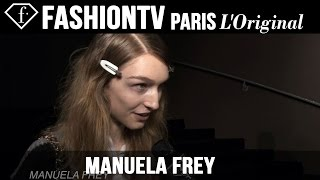 Manuela Frey: My Look Today | Model Talk | FashionTV
