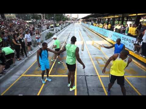 Aeroview - Usain Bolt en Argentina