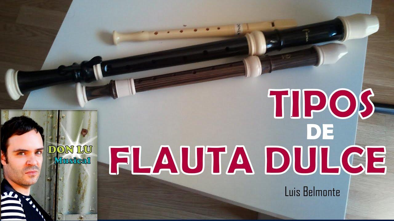 Tipos de flauta dulce types recorder donlumusical youtube - Tipos de estores para salon ...