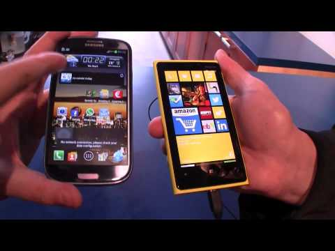 Nokia Lumia 920 vs Samsung Galaxy S3 Comparison