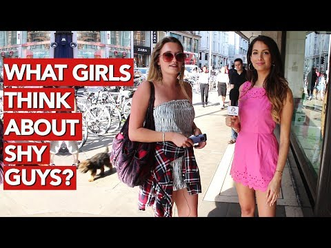 What girls think about shy guys?