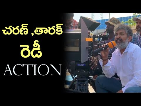 RRR Movie First Shot Making Video | #RRRShootBegins | Ram Charan | Jr NTR | Film Jalsa