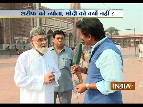 Jama Masjid Shahi Imam refuses to invite PM Modi, but invites Sharif, Sonia, Rajnath, Mulayam