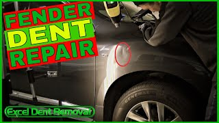 Fender Dent Repair - A Couple Reasons Why This Damage Won't Pop Out