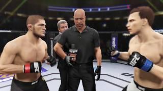 Khabib vs. American Psycho (EA Sports UFC 2) - Champion Fight
