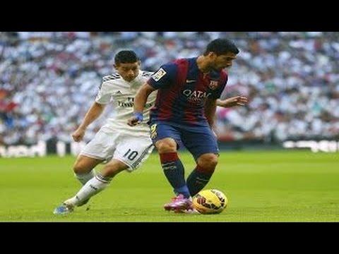 Debut Oficial Luis Suárez con el Barcelona | Real Madrid 3-1 Barcelona | 2014