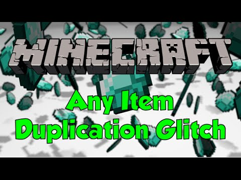 Minecraft - Any Item Unlimited Duplication Glitch - All Consoles - Diamond Duplication Glitch!